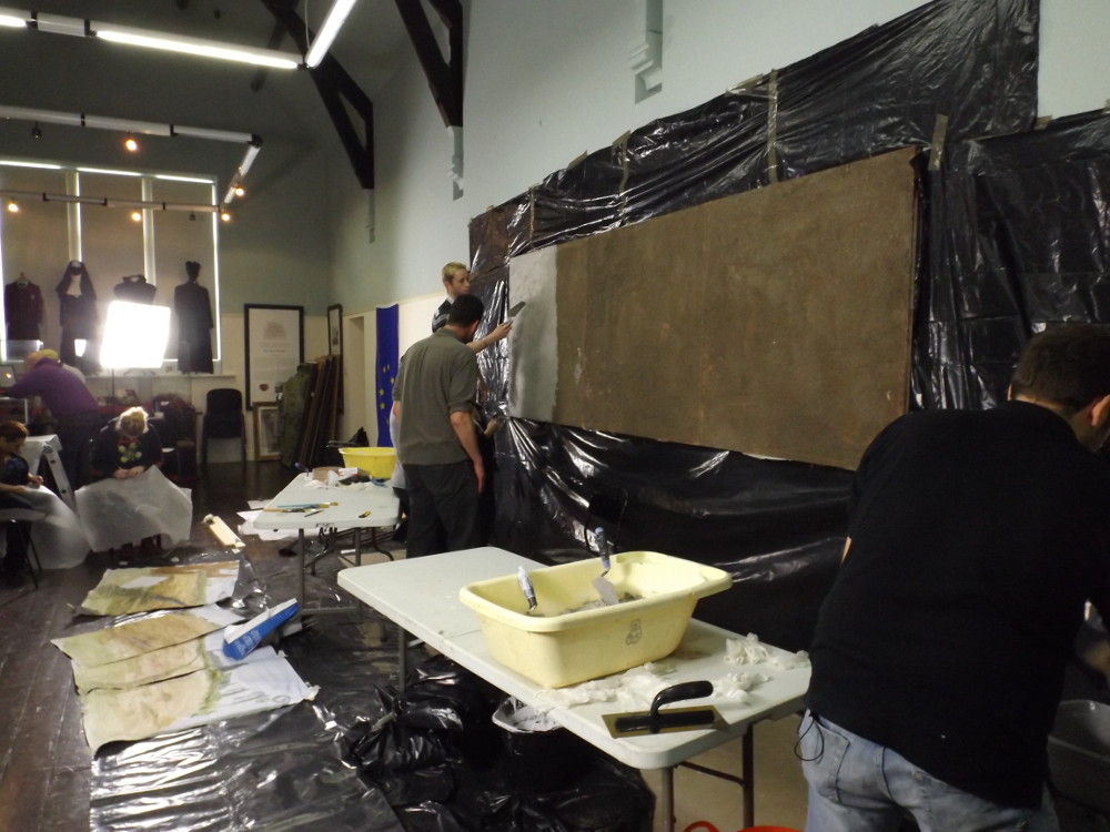 Application plaster