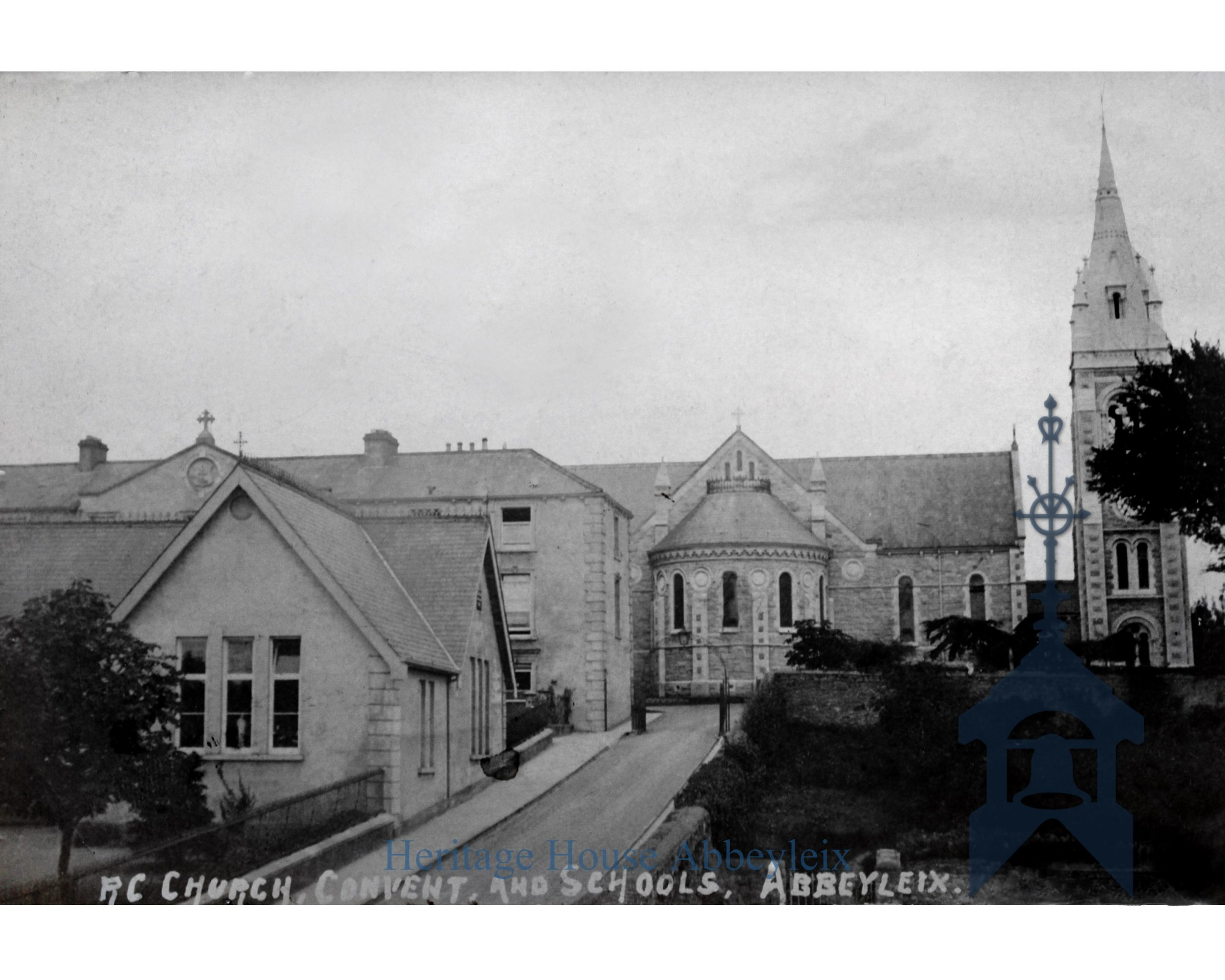 The Brigidine Convent School and the Church of the most holy Rosary. c1960s.